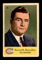 1959 Parkhurst #22 Ken Reardon VP VG X1502684