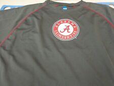 University of Alabama Crimson Tide Gray NCAA  Polyester T Shirt  Large I2
