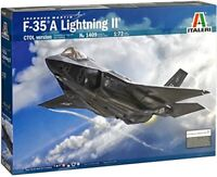 F-35 A Lightning II Fighter Plastic Kit 1:72 Model 1409 ITALERI