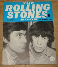 THE ROLLING STONES BOOK MONTHLY NUMBER 6 NOVEMBER 1964 VINTAGE MAGAZINE