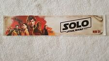 "Solo Movie Banner Poster 5x25"" 2018"