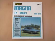 Mitsubishi Magna TP, workshop, service and repair manual, vintage