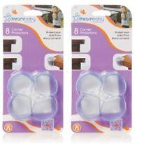 Dream Baby Round Corner Protectors - 2 x 8 Pack = 16 Count