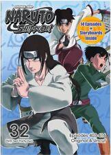 Naruto Shippuden DVD Set 32 Original & Uncut Thirty Two NEW