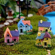 Miniature Decoration European Castle Garden Bridge Stair Ornament Resin Decor