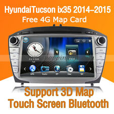 Auto DVD Player Car GPS Radio Stereo Bluetooth for Hyundai Tucson ix35 2014 2015