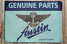 AUSTIN CLASSIC Motor Car Logo Print On A Metal Sign VINTAGE RETRO GARAGE Mancave