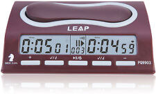 New LEAP Digital Chess Clock Competition Pro Board Game Timer Master Tournament