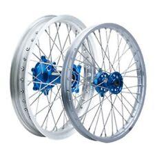 Yamaha YZ250F YZ250FX YZ450F YZ450FX Tusk Impact 21/18 Wheel Kit F/R Silver/Blue
