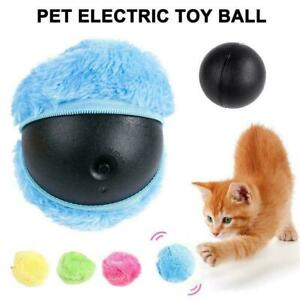 UK Durable Magic Electric Roller Ball Toy Pet Dog Cat Active Rolling Balls Toys