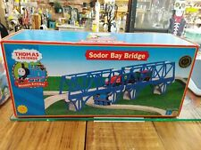 THOMAS & FRIENDS WOODEN RAILWAY - SODOR BAY BRIDGE 2005 - New in box!