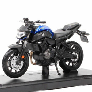1:18  Maisto Yamaha Mt-07 Bike 2018 Vehicles Diecast Motorcycle Toy Model