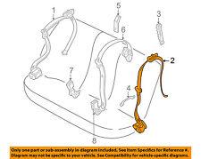 BMW OEM 00-01 X5 Rear Seat Belt-Rear Belt Assembly Left 72118259009