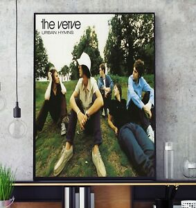 Urban Hymns (by The Verve) Album Cover Poster Professional Grade Print