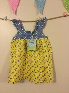 Girl's Organic Cotton Louisa Summer Top - Frugi - BNWT - RRP £22 - Age 5-6
