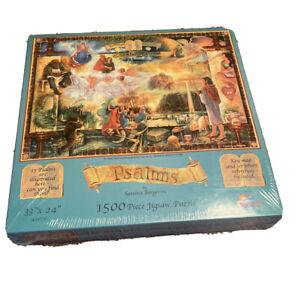 Psalms Sealed 1500 Piece Puzzle By Sandra Bergeron Bible by Sunsout Company