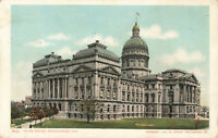 Postcard State House Indianapolis Indiana Posted 1906