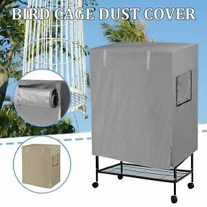 Large Aviary Pet Bird Parrot Cage Seed Catcher Night Cover Protector Shell Guard