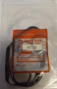 HR7200 VIDEO BELT KIT FOR JVC/FERGUSON  3V29 /30   (5 BELTS) 'UK COMPANY NIKKO'
