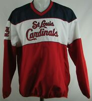 St. Louis Cardinals MLB G-III Men's V-Neck Pullover Jacket