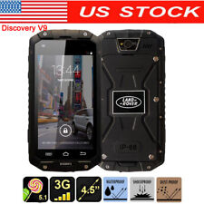 2G/3G GSM WCDMA Rugged Smartphone Land V9 Rover Waterproof MTK6572 Phone+32GB