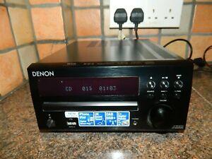 Denon RCD M40DAB CD Player FM/DAB Digital Radio ,USB In Black