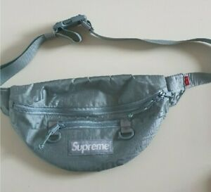 SS19 Supreme ice waist bag Cordura fabric