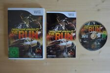 Wii-Need for Speed: the Run (OVP, con instrucciones)