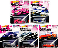Hot Wheels 2020 FAST & FURIOUS Premium Quick Shifters J iMPORT Set of 5, 1/64