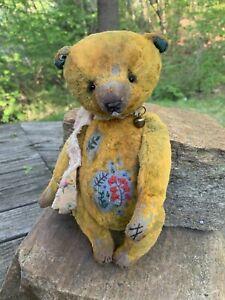 Marina Alexandrova OOAK TEDDY Bear Louie