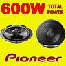 PIONEER 600W TOTAL 3-WAY 6.5 INCH 16.5cm CAR DOOR/SHELF COAXIAL SPEAKERS PAIR