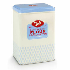 Tala Flour Storage Tin Home Kitchen Food Container - Blue