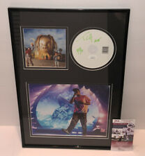 TRAVIS SCOTT SIGNED ASTROWORLD ALBUM DISPLAY AUTOGRAPH MERCH Kanye West JSA COA