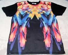 Angel Wings T Shirt Tee Research and Development Black Multi Color 4XLarge XXXXL