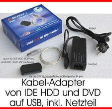 UNIVERSAL: DVD RW CD-RW HARDDISC EXTERN ANSCHLIEßEN VIA USB TO PCS NOTEBOOKS TOP