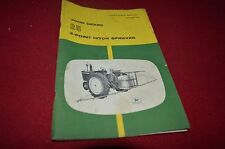 John Deere 25 3 Point Hitch Sprayer Operator's Manual BWPA