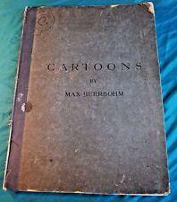 Cartoons Max Beerbohm Folio 15 plates Second Childhood John Bull Swift London