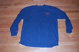 1990's Patrick Ewing NY Knicks Used Longsleeve Cotton 'And 1' Blue Shirt-#33