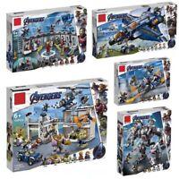 New Superheroes Marvel Avengers Endgame 76131 76124 76125 76126 Building Blocks