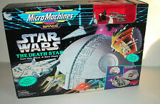 Star Wars Micro Machines Death Star ANH E IV  playset MISB 1014