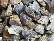 1 lb Iolite Bulk Tumbling Rough Rock Stones Healing Crystals