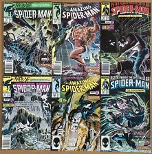 KRAVEN'S LAST HUNT Full Set Spider-Man 293 294 Web of 31 32 Spectacular 131 132