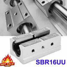 Sbr20luu 20mmlinear Motion Ball Bearing Slide Guide Shaft Block Cnc Router Parts