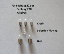 Light Bulb Set for Seeburg 161 and 201 or Seeburg 220 and 222 Jukebox