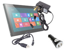 Complete Travel Charger Kit For Lenovo ThinkPad 2 & IdeaPad K1 A1 Tablet A2107A