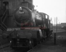PHOTO  GWR 7809 CHILDREY MANOR ON THE COAL ROAD AT ABERYSTWYTH IN 1958