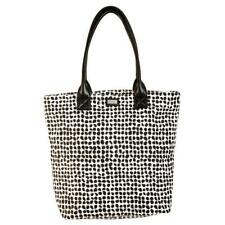 Ame & Lulu Poppy Classic Tote Bag - Black/White