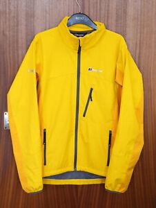 Berghaus Mens Windstopper Softshell Jacket Yellow/ Gold Size Medium