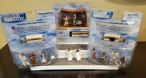 HEROES OF FAITH FIGURES 3 SETS  STORY JOSEPH PILATE & PRIESTS NOAH'S WIFE++ 2004
