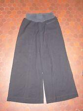 Pantalon coupe large rayé noir femme COP COPINE taille 40